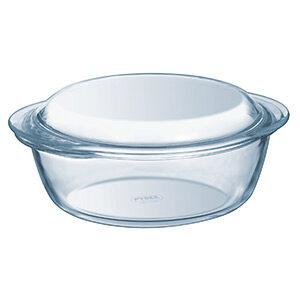 Pyrex Essentials Glass Round Casserole High Resistance