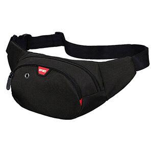 Waist Bag 3 Zip Pockets Travel Hiking Outdoor Sport