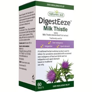 Natures Aid Digesteeze Milk Thistle