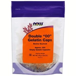 Now Foods 00 Gel Capsules 250 Count