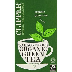 Clipper Organic Green Teabags