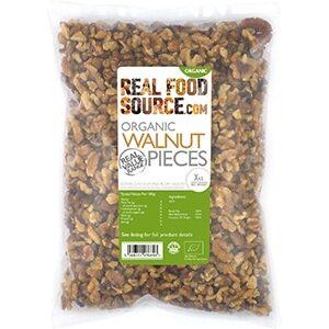 Realfoodsource Certified Organic Walnut Pieces