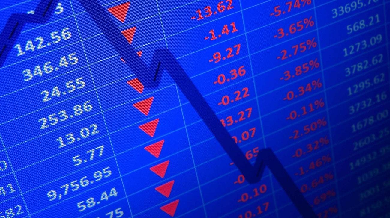 фондова борса спад